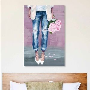 Brand new Oliver Gal canvas print